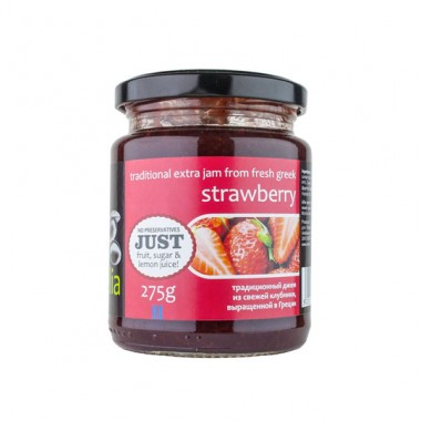 Traditional jam strawberry